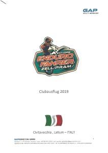 Info Clubausflug 2019 Italy
