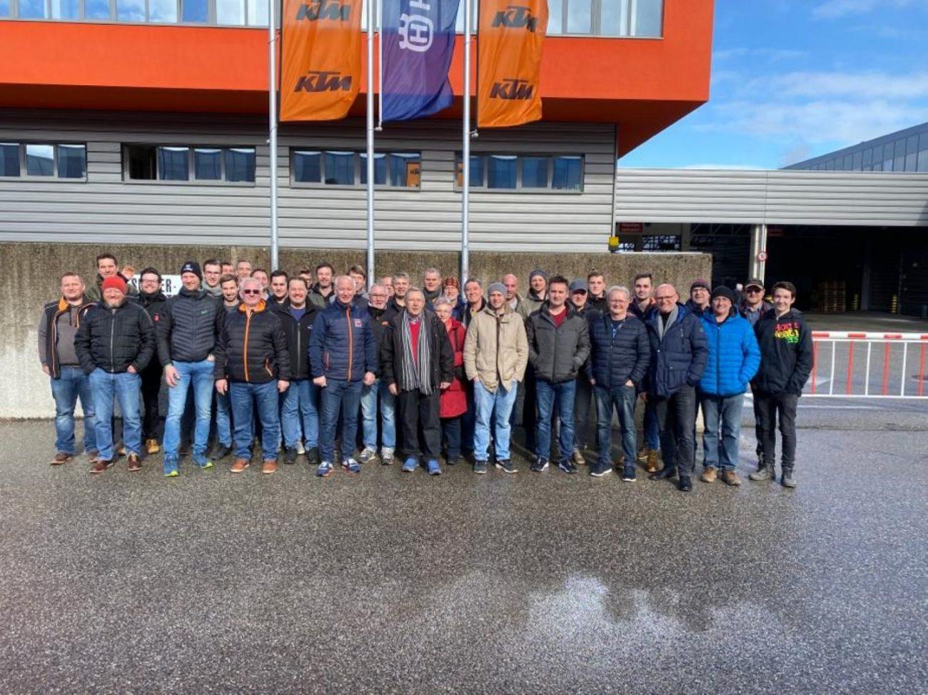 KTM Werksbesichtigung 2020